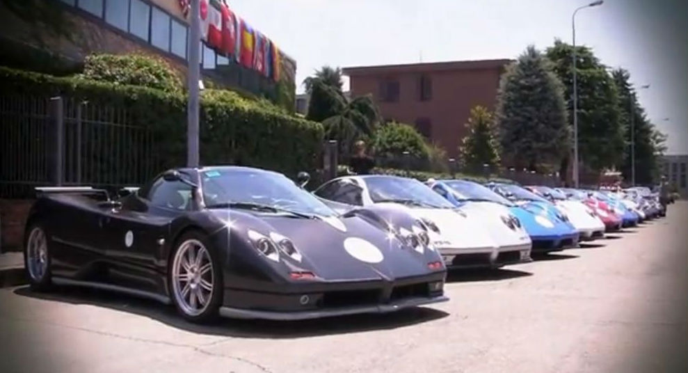 Pagani Heaven 11 Cars In One Place With Zonda And Huayra