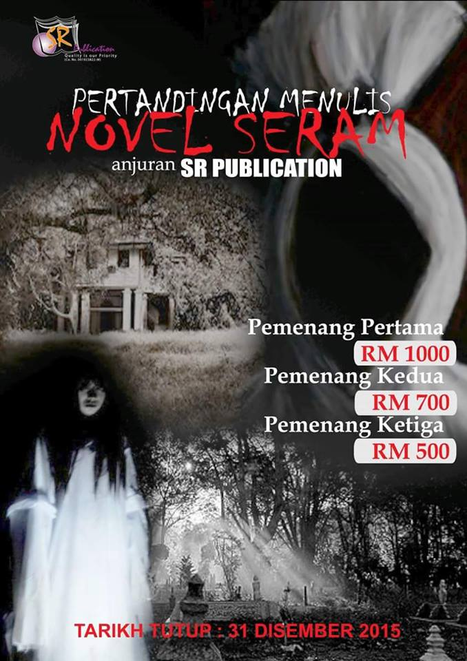 Pertandingan Menulis Novel Seram Anjuran SR Publication