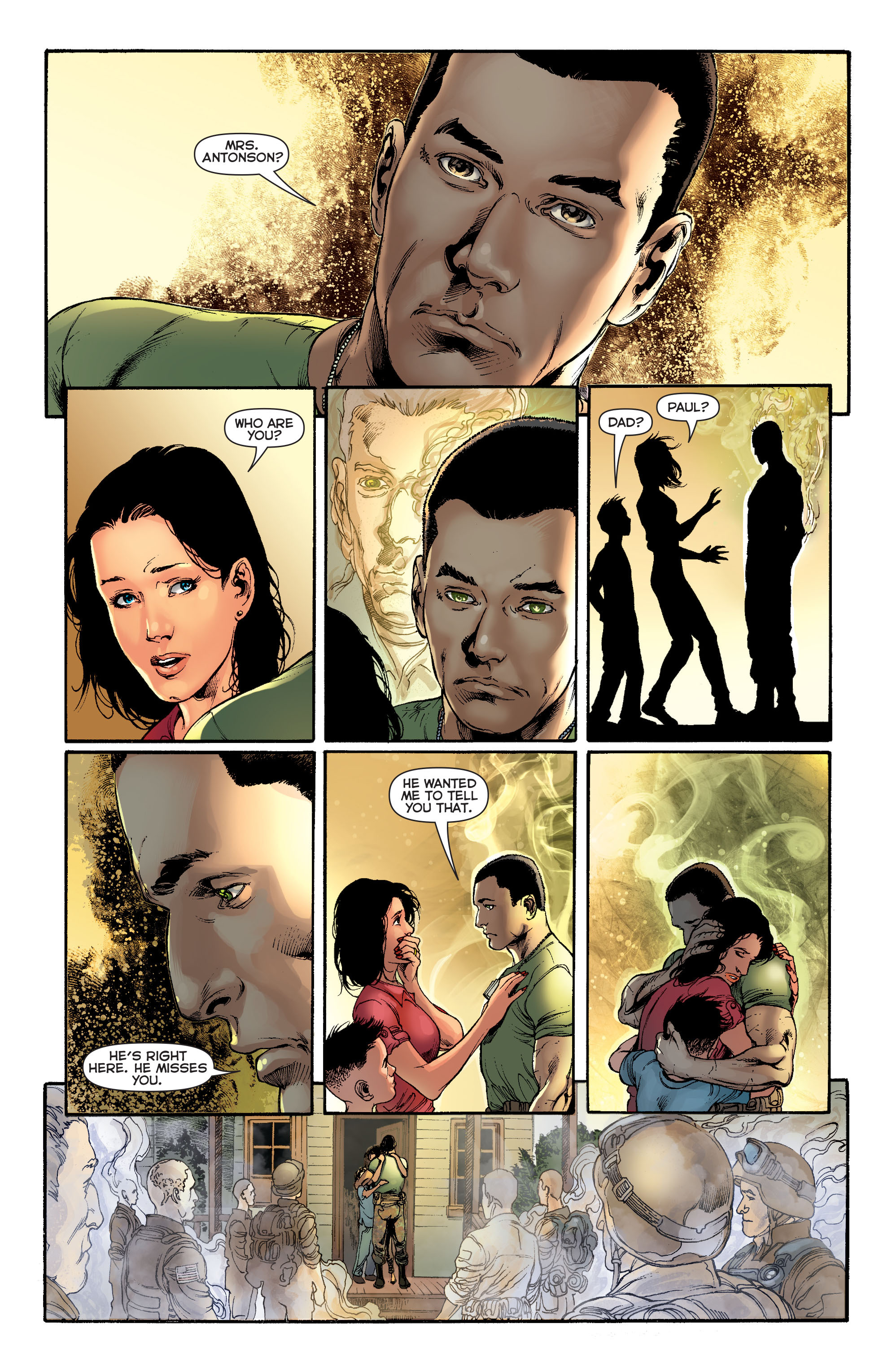 Read online Aquaman (2011) comic -  Issue #13 - 20