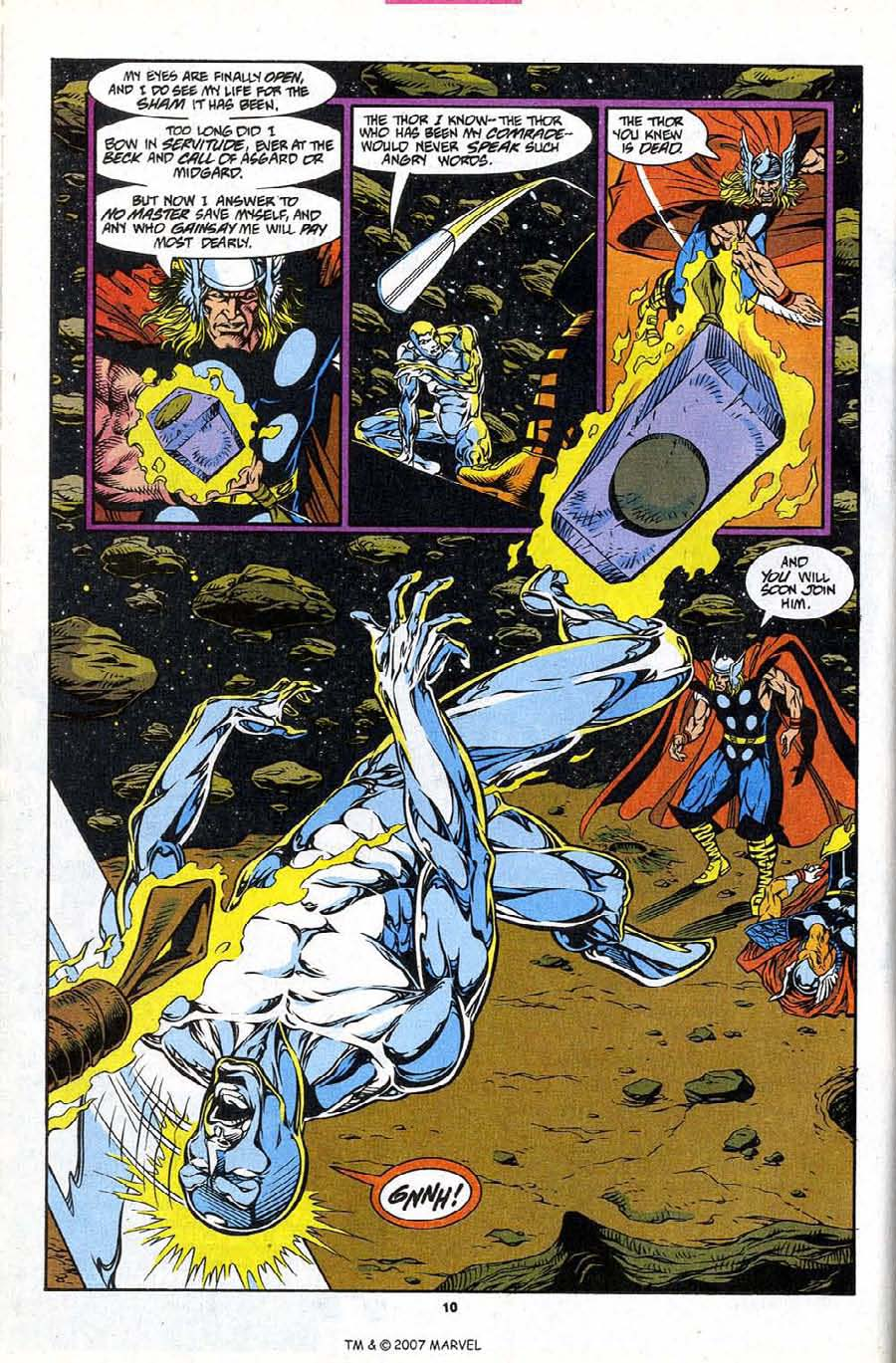 Read online Silver Surfer (1987) comic -  Issue #86 - 12