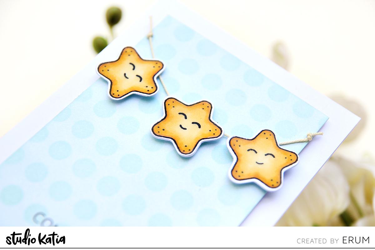 Studio Katia Star Date Stamp Set | Erum Tasneem | @pr0digy0