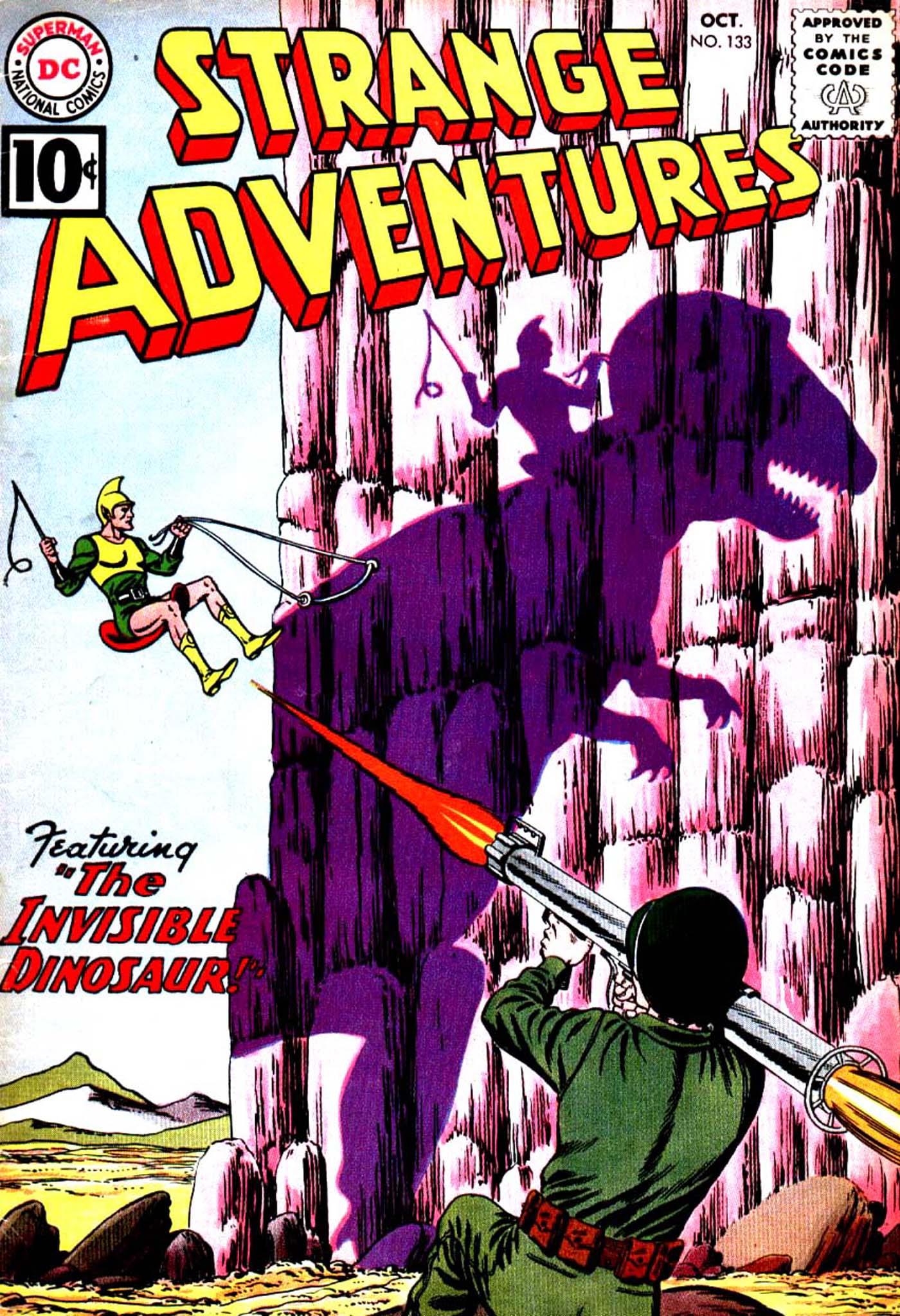 Strange Adventures (1950) issue 133 - Page 1
