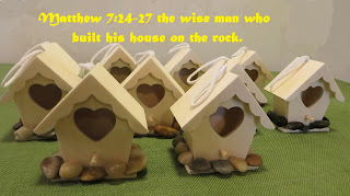 Matthew 7:24-27 craft idea