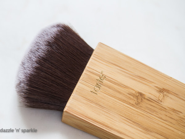 tarte Swirl Power Contour & Bronzer Brush - review