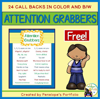 https://www.teacherspayteachers.com/Product/Attention-Grabbers-2297629