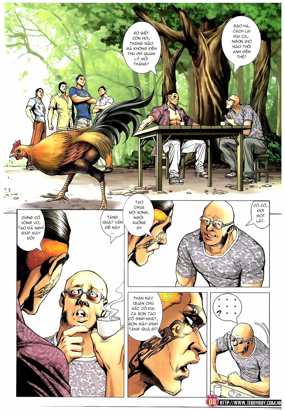 Người Trong Giang Hồ - Chapter 1392: Hắc Thế Lực Lào - Pic 7