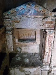 Colombario guia de roma Pomponius Hylas roma portugues - O Colombário de Pomponius Hylas