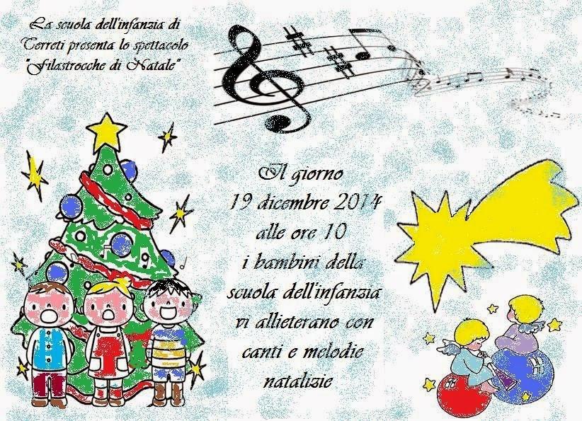 Scuola primaria e infanzia di terreti dicembre 2014 for Cartelloni di natale per la scuola dell infanzia