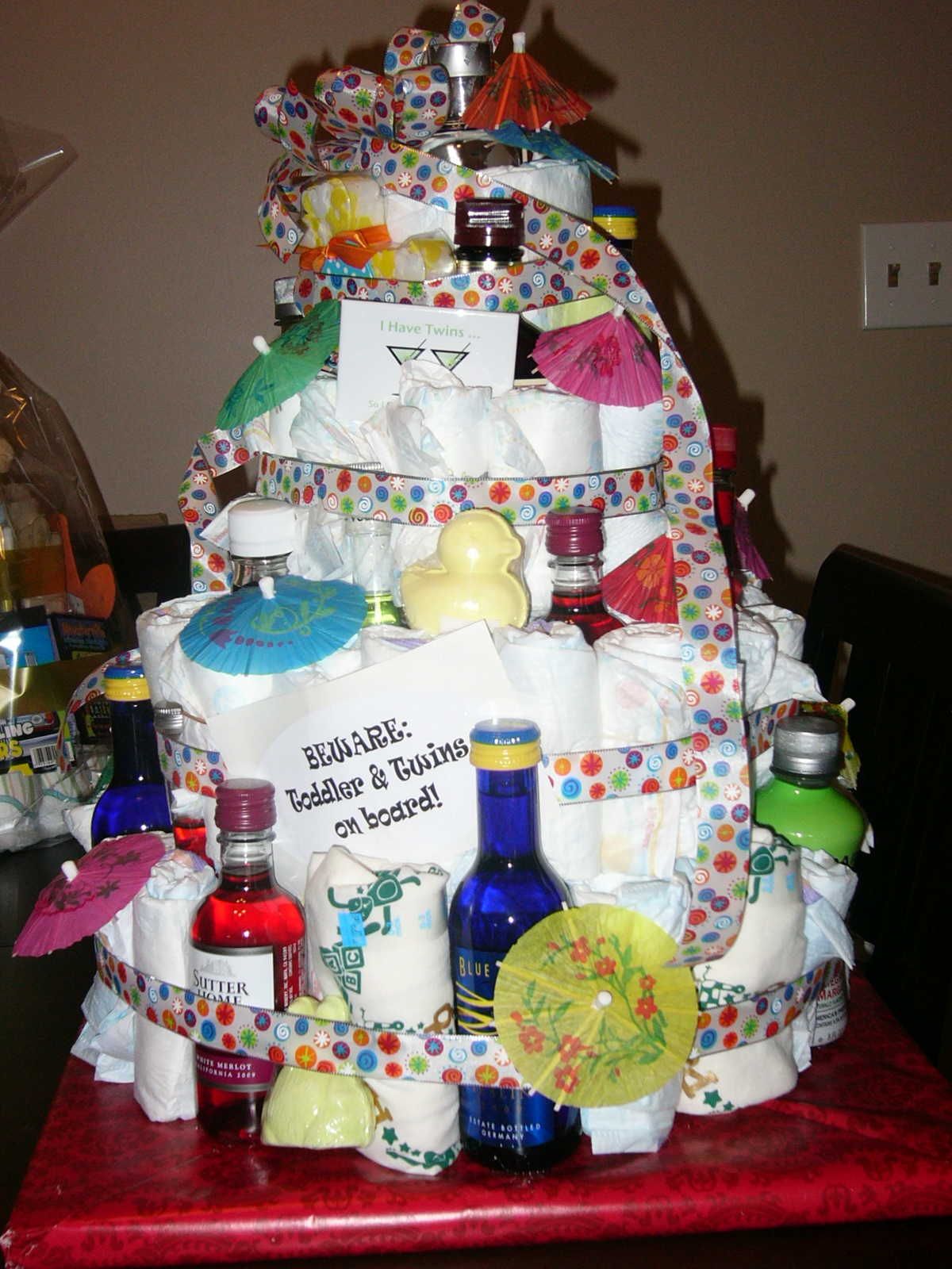 Where S The Tylenol Alcoholic Diaper Cake
