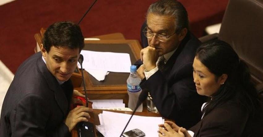 Bancada liderada por Keiko Fujimori presionaron a Congresista Reggiardo en el 2008 para no investigar a Odebrecht