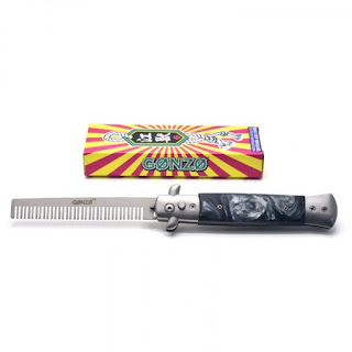 gonzo pomade switchblade comb