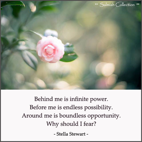 Why should I fear
