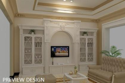 Jasa gambar online desain 2d 3d design interior classic