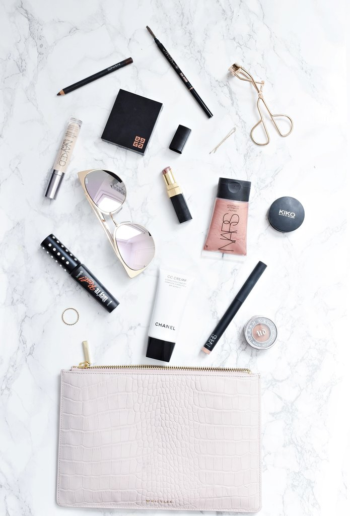 travel makeup essentials, beauty packing