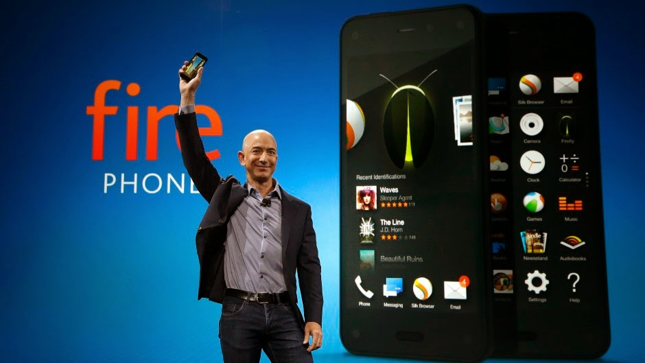 Amazon blames Fire Phone failure on its price