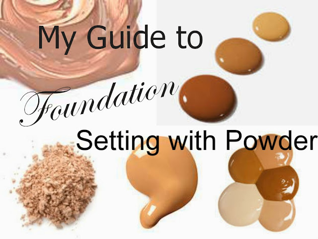Comparison - Loose powder - pressed powder - compact - setting foundation - setting make up - how to - tutorial - guide