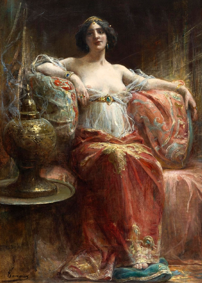 Adrien Henri Tanoux 1865-1923 - French Orientalist painter