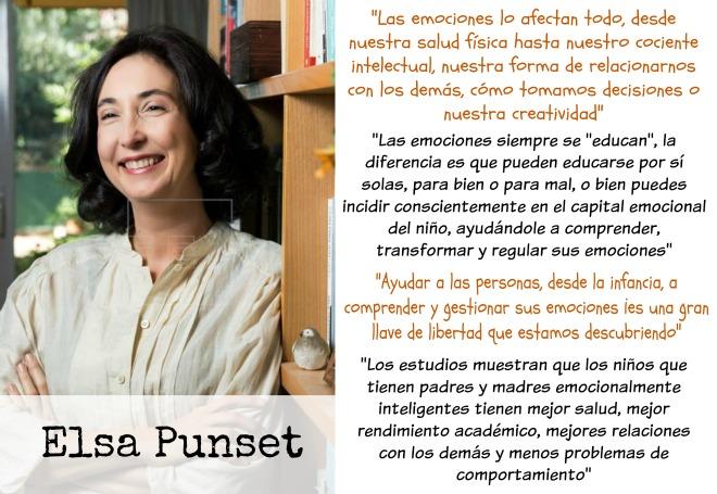 entrevista a elsa punset EFE, sobre educacion emocional