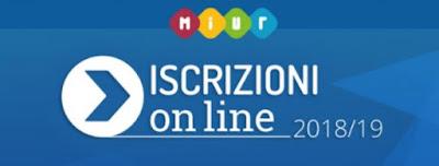 Scuola - Iscrizioni online  anno scolasrtico 2018/2019 - fase di avvio