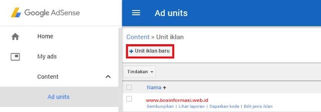 unit iklan baru iklan matched content