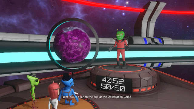 Screenshot of Doctor Kvorak's Obliteration Game