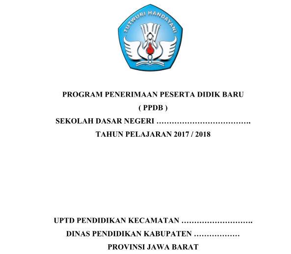 Program Kerja PPDB SD/ MI Tahun 2018/2019