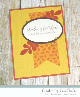 Truly Grateful card-designed by Lori Tecler/Inking Aloud-stamps and dies from Reverse Confetti