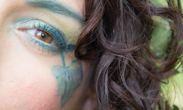 maquillage yeux vert msc