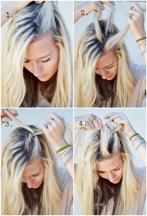 Hair Diy Half Up Side French Braid The Shine Project