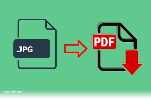 cara mengonversi jpg ke pdf