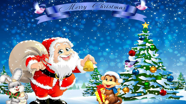 Cartoon Christmas tree images