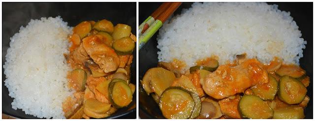 La creativit di anna shirataki di riso con carne e for Cucinare konjac