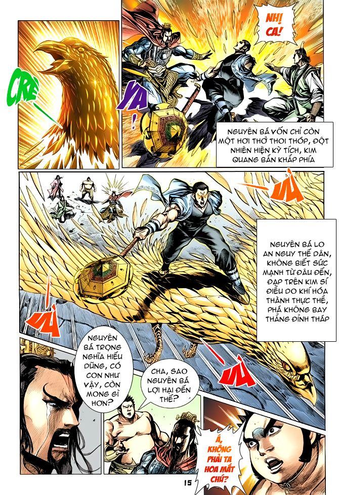 Đại Đường Uy Long chapter 55 trang 15