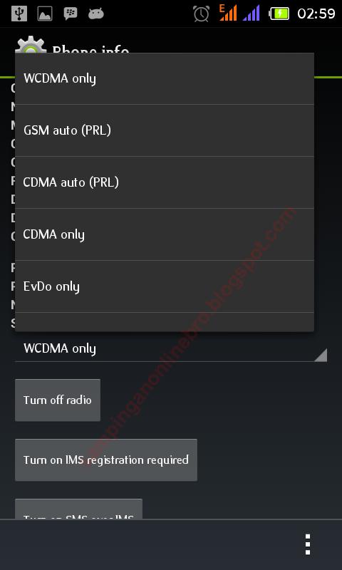 Cara Mengubah Sinyal EDGE Menjadi HSDPA Di Smartphone Android