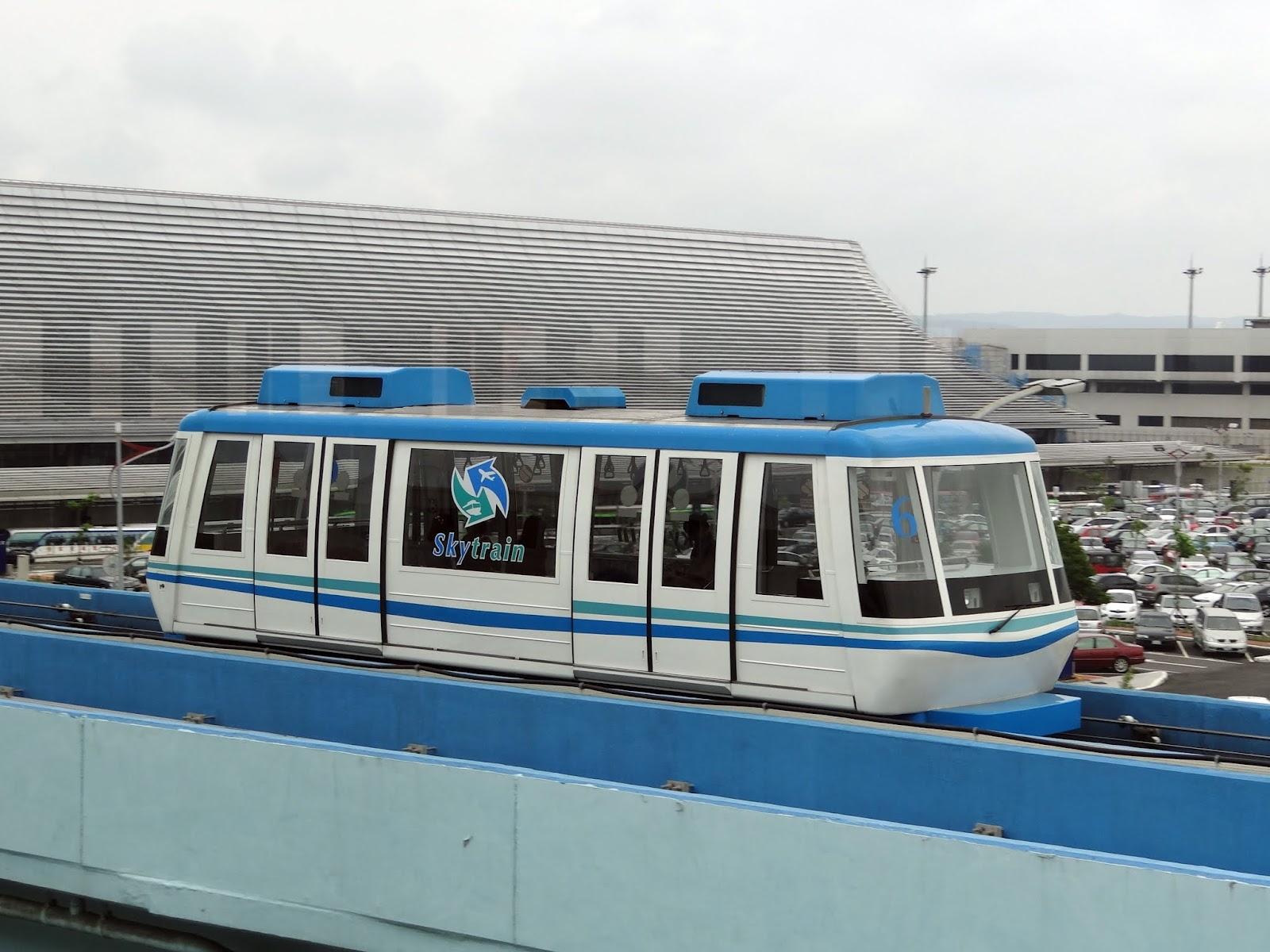 桃園國際機場旅客自動電車輸送系統 Skytrain