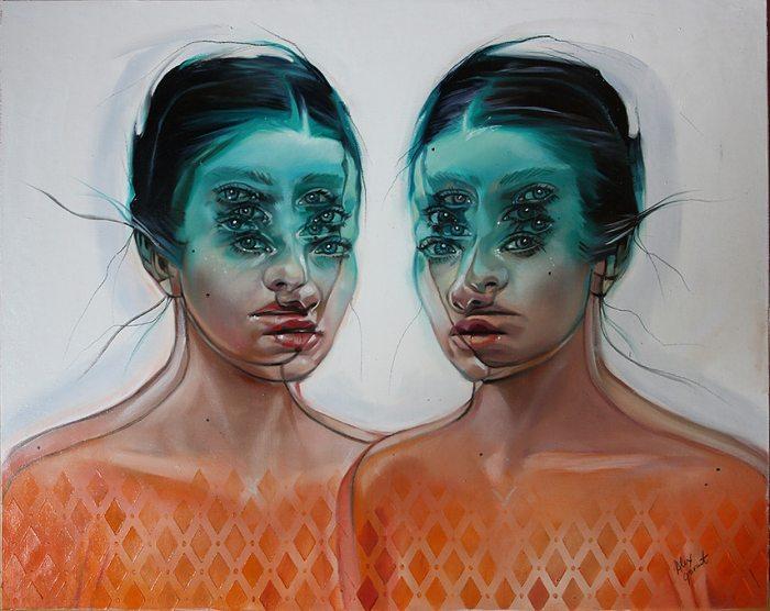 Королева двойных глаз. Alex Garant