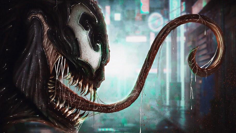 Venom, Marvel, Comics, 4K, #4.2929