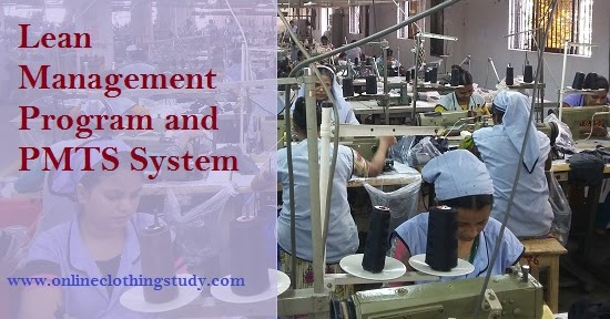 Lean Management Program And Pmts System Online Clothing