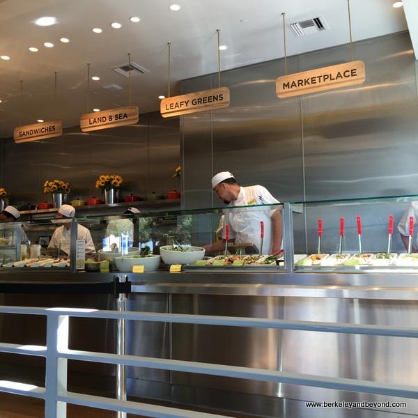 cafeteria line at Lemonade in San Francisco, California