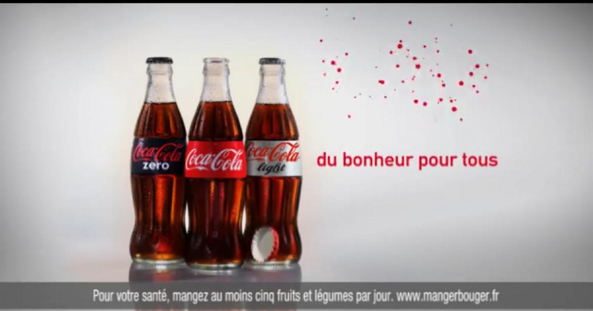 coca cola du bonheur pour tous