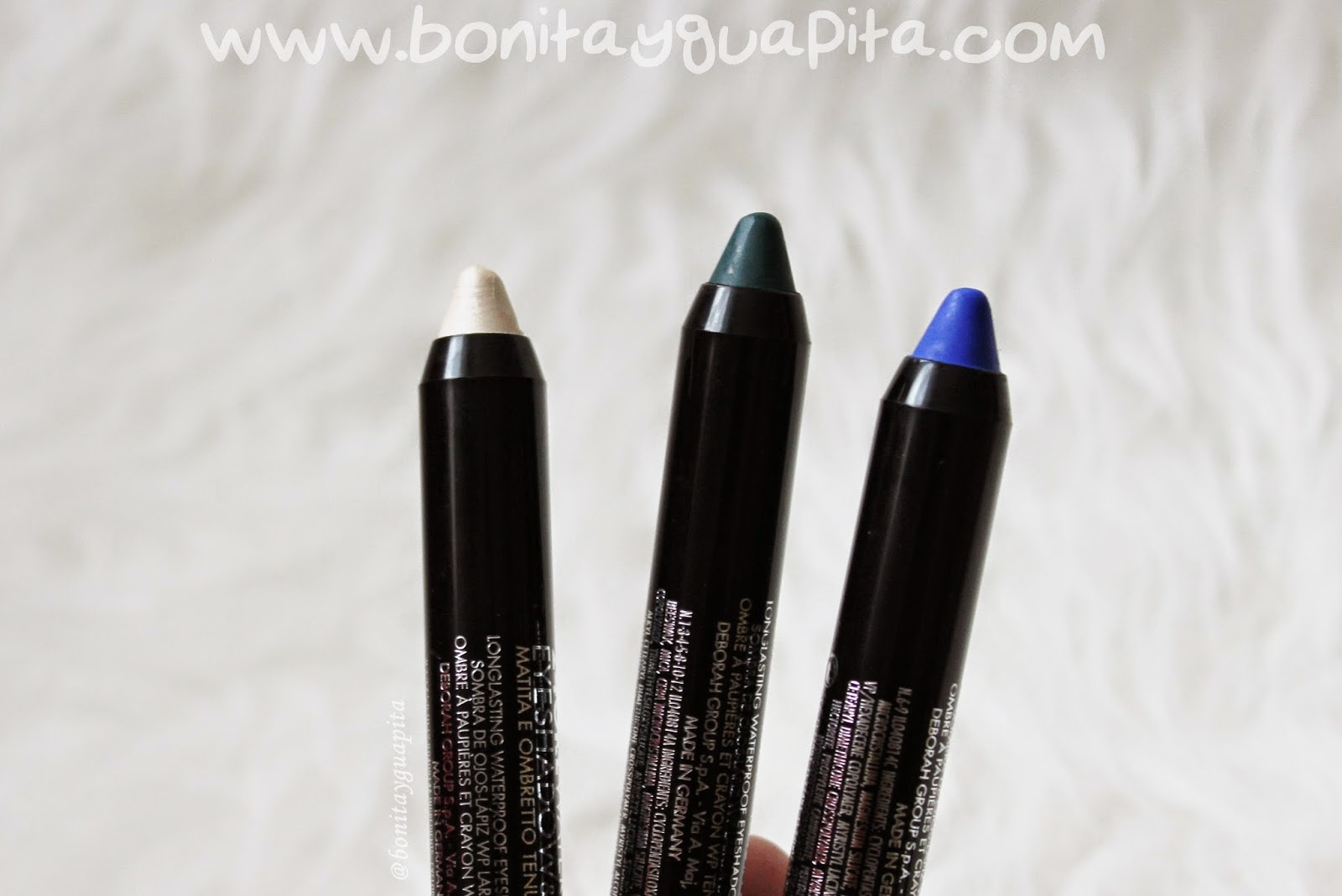 24 ore waterproof eyeshadow & pencil 01 08 09