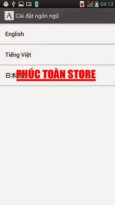 Tiếng Việt Lg L-01E 4.0.4 done alt