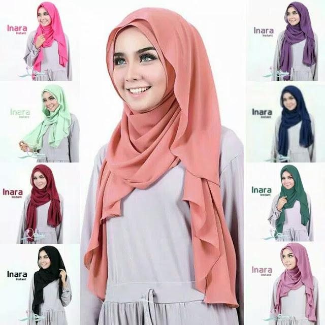 Hijab Pashmina Instan Pashtan Inara