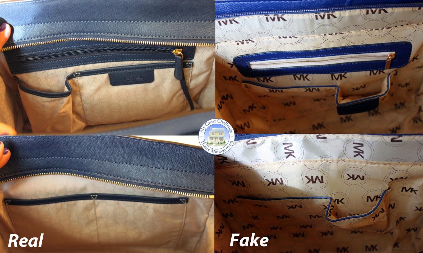 848ce8c40e6a My Great Challenge: Michael Kors Selma - Fake VS. Real Comparison