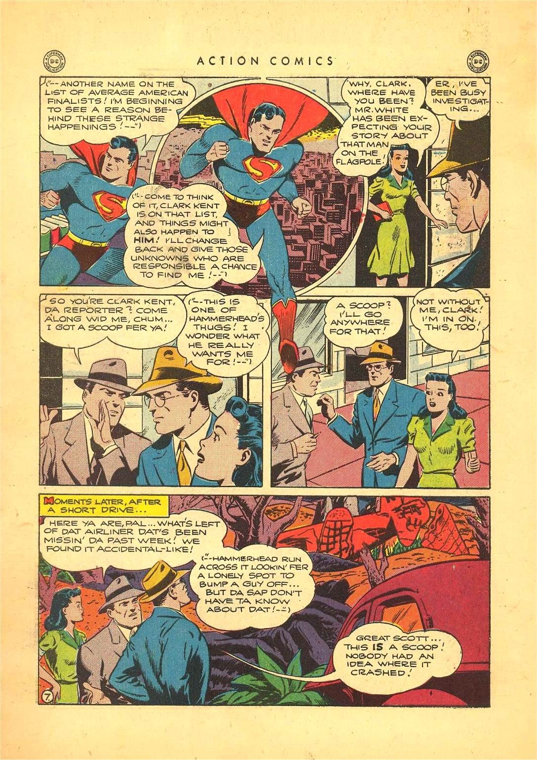Read online Action Comics (1938) comic -  Issue #92 - 9