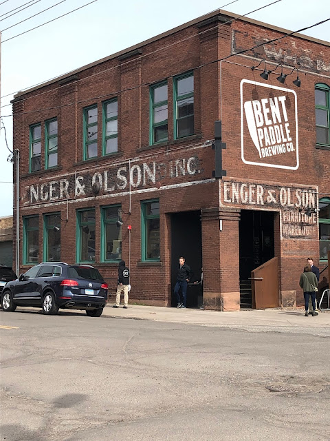 Bent Paddle has found its home inside of a former Enger and Olson furniture warehouse in Duluth, Minnesota