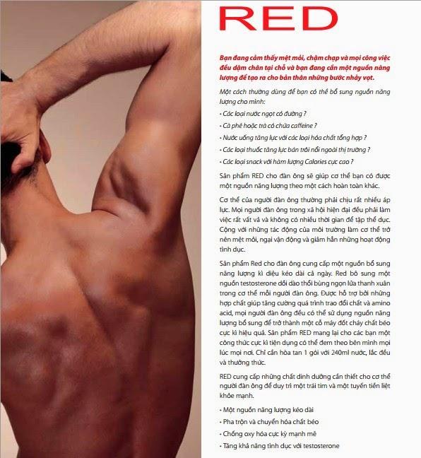 Red Bhip tăng cường sinh lý - sinh lực cho nam giới