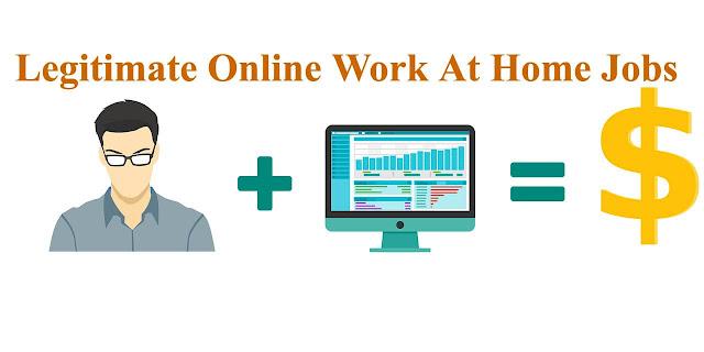 Top 25 Legitimate Online Work At Home Jobs