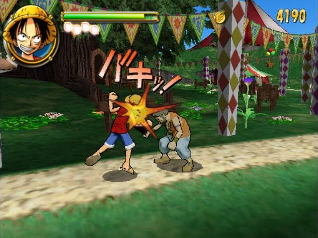 One Piece Round the Land PS2 GAME ISO Screenshot 1