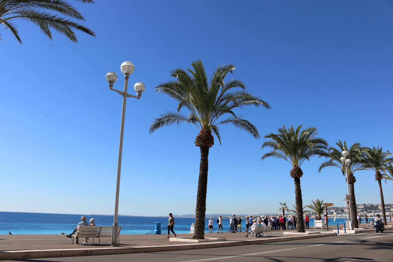 Nice French Riviera Promenade des Anglais